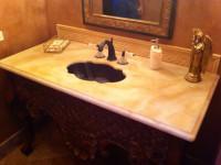 Custom Bathroom Sink 2