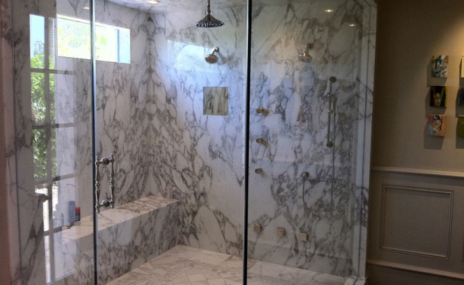 Rustic Marble Bathroom 3